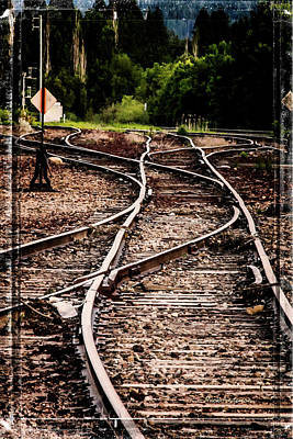 Photograph - Mountain Railroad Maze by Mick Anderson