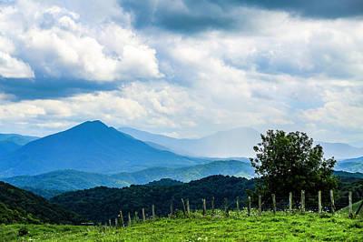 Photograph - Mountain Rain by Dale R Carlson
