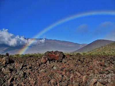 Mountain Rainbow Art Print