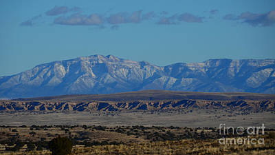 Photograph - Mountain Range At Dusk by Robert WK Clark