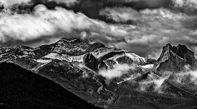 Photograph - Mountain Range Canada by Patrick Boening