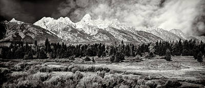 Photograph - Mountain Range by Maria Coulson