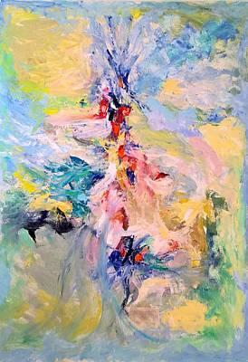 Painting - Mountain Range by Nicolas Bouteneff