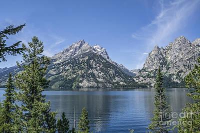 Photograph - Mountain Range by Scott Wood