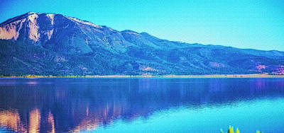 Photograph - Mountain  Reflection by Nancy Marie Ricketts