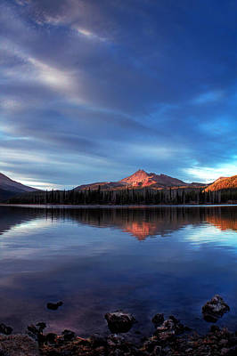 Photograph - Mountain Reflection by Tyra OBryant