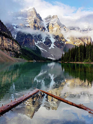 Photograph - Mountain Reflections by Art Cole