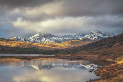 Snowdonia Photograph - Mountain Reflections by Chris Fletcher