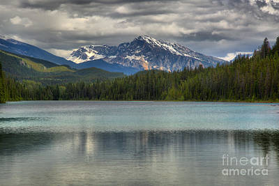Photograph - Mountain Reflections In The Valey Of Five Lakes by Adam Jewell