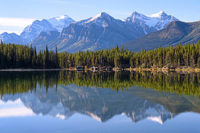 Photograph - Mountain Reflections by Keith Boone