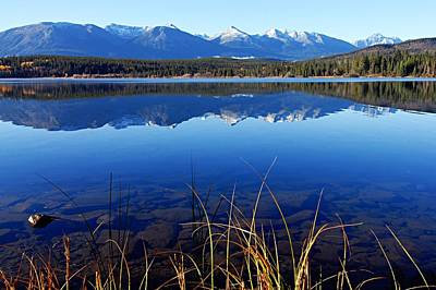 Photograph - Mountain Reflections by Larry Ricker