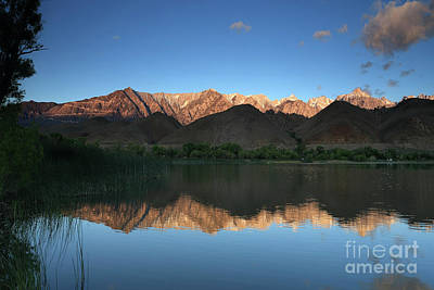 Photograph - Mountain Reflections by Rick Mann