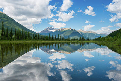 Photograph - Mountain Reflector by Michael Blanchette