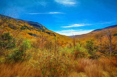 Sean Rights Managed Images - Mountain Region Valley Foliage Royalty-Free Image by Black Brook Photography