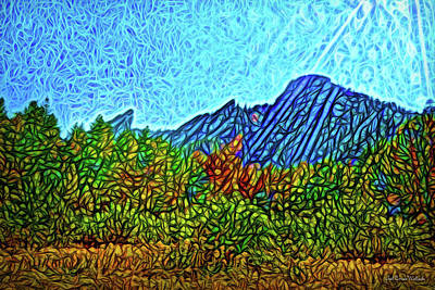 Digital Art - Mountain Revelations by Joel Bruce Wallach