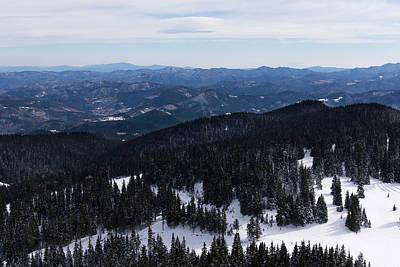 Photograph - Mountain Ridges As Far As The Eye Can See by Georgia Mizuleva