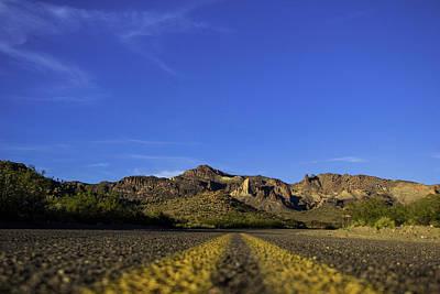 Photograph - Mountain Road by Brendan Quinn