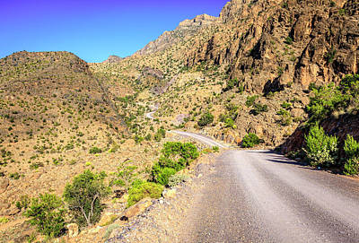 Photograph - Mountain Road In Oman by Alexey Stiop