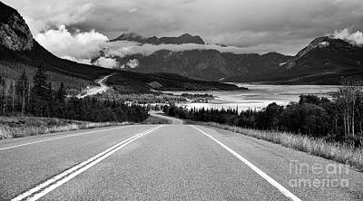 Photograph - Mountain Road Landscape by Art Cole