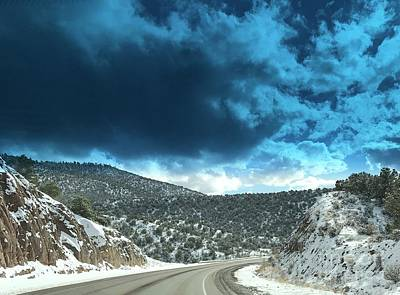 Photograph - Mountain Road by LeLa Becker