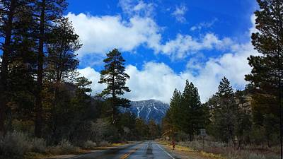 Photograph - Mountain Road On A Spring Day by Karen J Shine