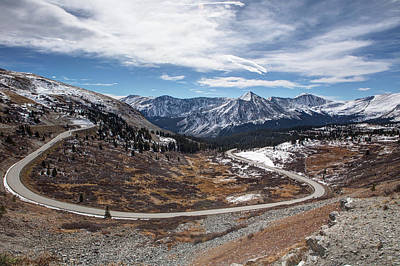 Photograph - Mountain Road by Theresa Muench