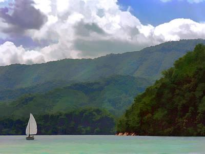 Photograph - Mountain Sail by Grace Dillon
