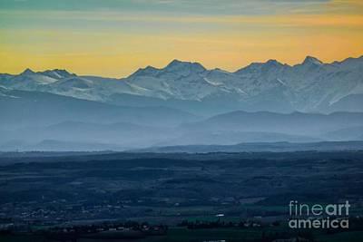 Mountain Scenery 12 Art Print by Jean Bernard Roussilhe