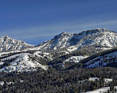 Photograph - Mountain Scenery by Anthony Dezenzio