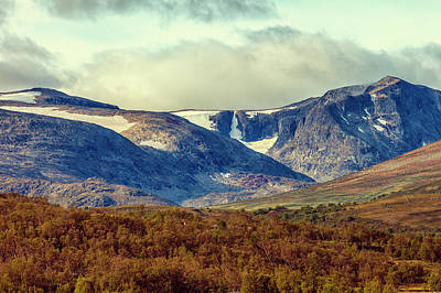 Photograph - Mountain scenery by Mike Santis
