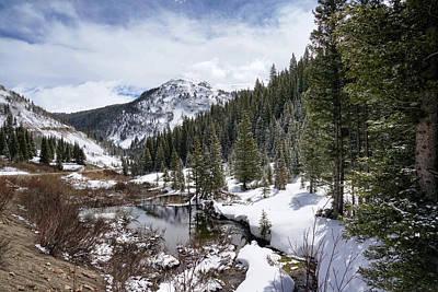 Photograph - Mountain Serenity by Leda Robertson