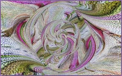 Digital Art - Mountain Serpentine Color by Halina Nechyporuk
