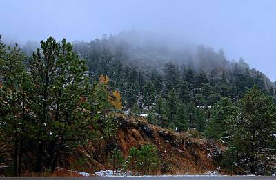 Photograph - Mountain Side - Estes Park by Angie Tirado
