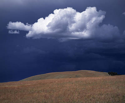 Continental Divide Photograph - Mountain Sky by Leland D Howard