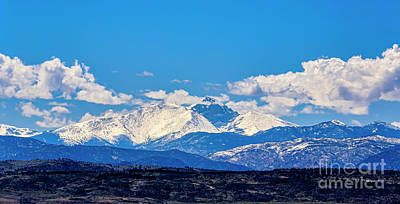 Photograph - Mountain Snow by Jon Burch Photography