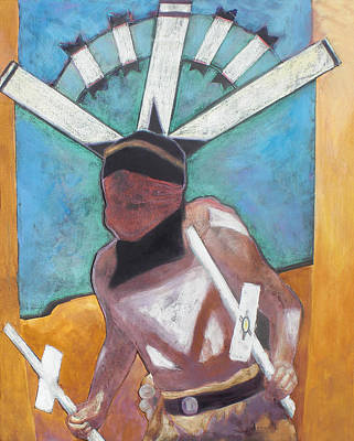 Mountain Spirit Dancer Art Print by Jo Thompson