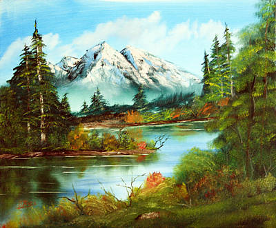 Painting - Mountain Splendor by Barry Jones