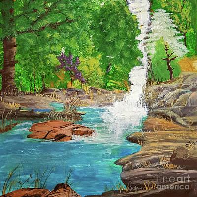 Mountain Spring Art Print by Sharon Eng