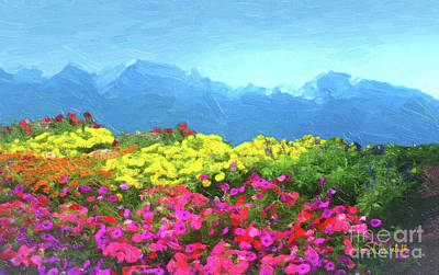 Painting - Mountain Spring by Stephen Mitchell