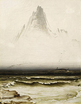 Painting - Mountain Stetind In The Fog by Peder Balke