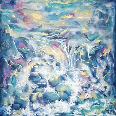Painting - Mountain Storm by Jaswant Khalsa