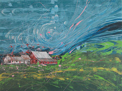 Painting - Strong Storm by Jeff Seaberg