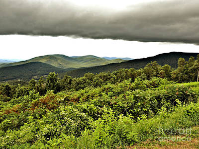 Photograph - Mountain Storm by Raymond Earley