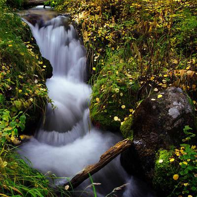 Photograph - Boulder Brook by Flying Z Photography by Zayne Diamond