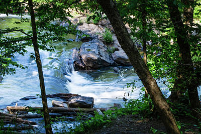 Photograph - Mountain Stream by James L Bartlett
