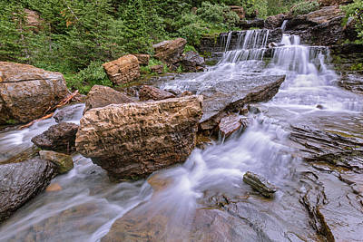 Photograph - Mountain Stream Magic by Jack Bell