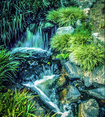 Art Print featuring the photograph Mountain Stream by Samuel M Purvis III