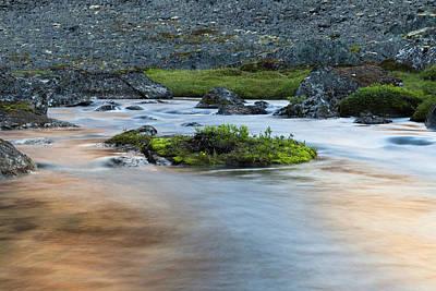 Photograph - Mountain Stream by Scott Slone