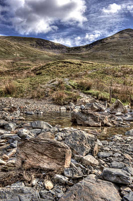 Photograph - Mountain Stream by Stewart Scott