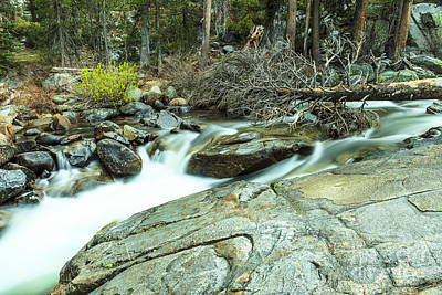 Photograph - Mountain Stream Yosemite 3 by Ben Graham